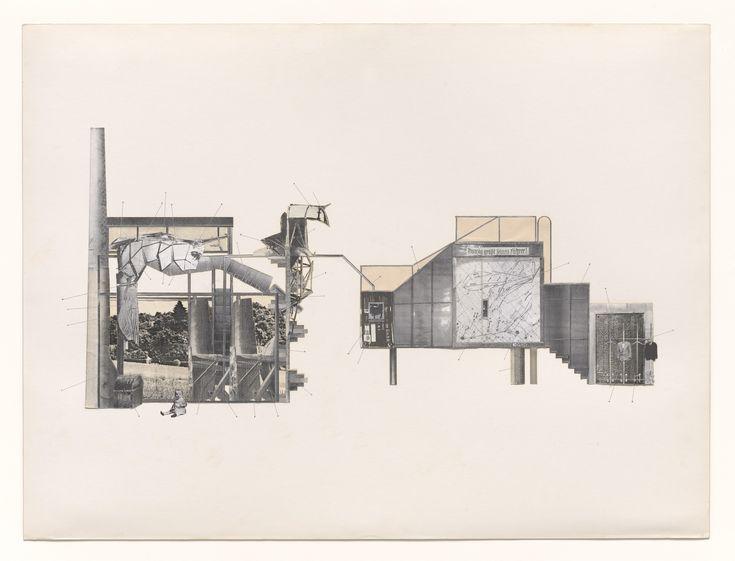 Jesse Reiser, Nanako Umemoto. Aktion Poliphile: Hypnerotomachia Ero/machia/hypniahouse Project, Wiesbaden, Germany, Interior elevation. 1989