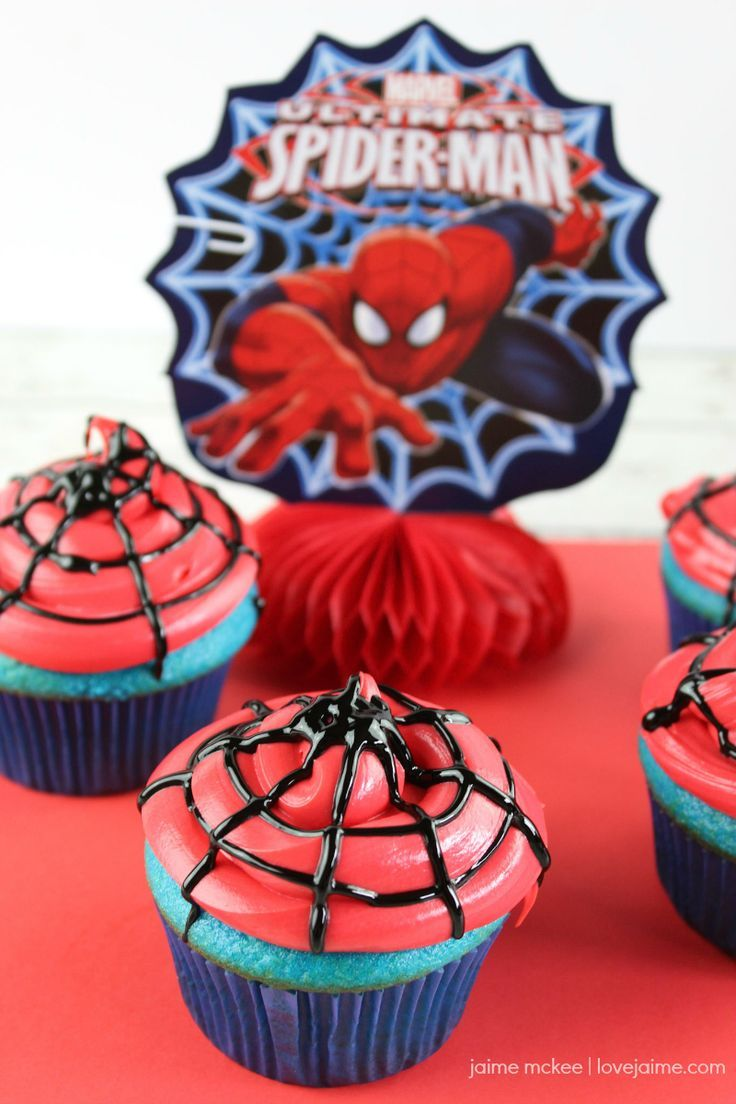 Spiderman 4 Ideas Onspiderman Birthday Cake
