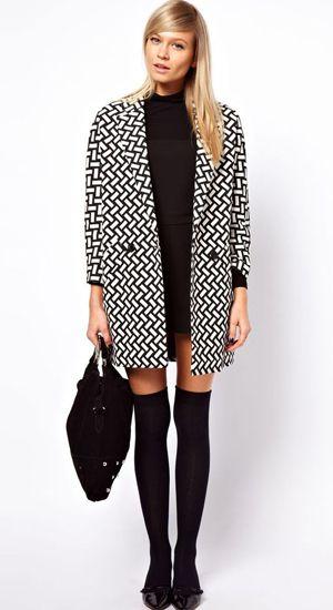 Comment porter le manteau boyfriend ? sur hellomuses.fr  #Coat #Oversize