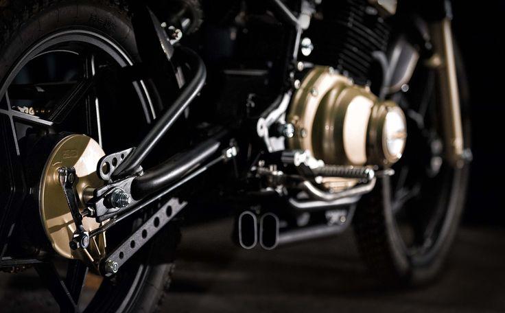 Sugar Kane - Cafe Racer Suzuki GSX250 by C-RACER  #suzuki #gsx250 #caferacer #custommotorcycle #sugarkane #c_racer