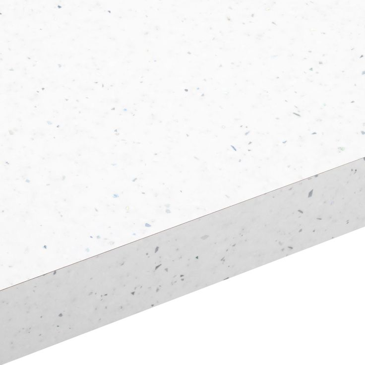 38mm B&Q Astral White Gloss Laminate Square Edge Kitchen Worktop | Departments | DIY at B&Q