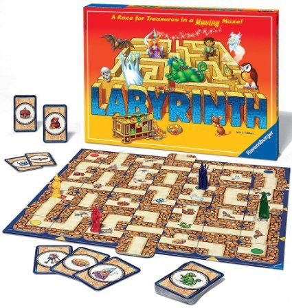 7+ Ravensburger Labyrinth Game: Ravensburger: Amazon.co.uk: Toys & Games