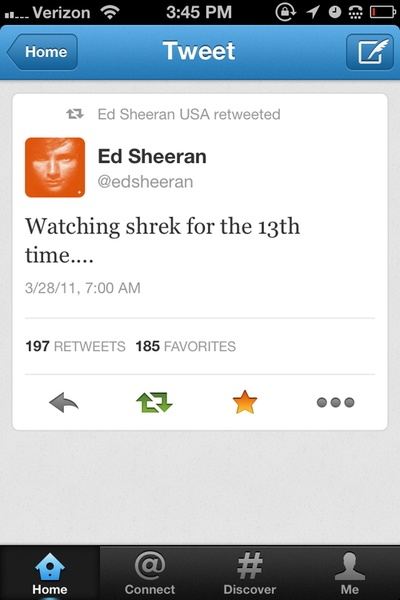 And I know you love Shrek 'Cause we've watched it 12 times But maybe you're hoping for a fairy tale too