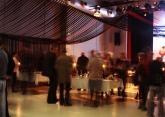Decoració d' acte cultural a Sallent / Decoración de acto cultural en Sallent