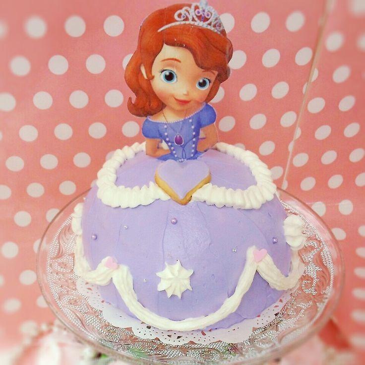小さなプリンセスソフィアのドールケーキ