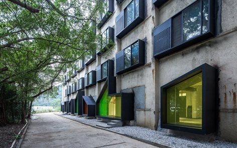 Youth Hotel of iD Town, Shenzhen, 2014 - O-office Architects