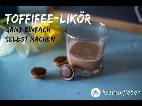 Toffifee Likör - Weihnachtslikör Rezept - PAMK Froh und lecker