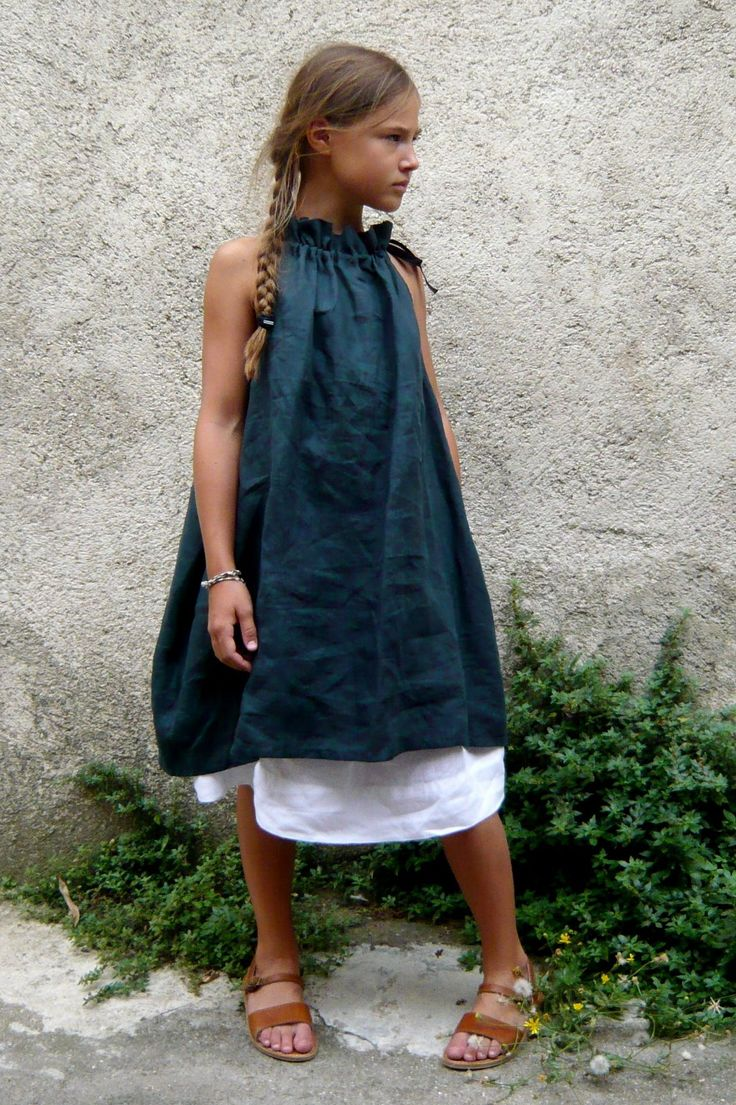 Simple, comfortable and natural fibre clothes for my girls. BLOG VDJ Women's Dresses - Dress for Women - http://amzn.to/2j7a1wP