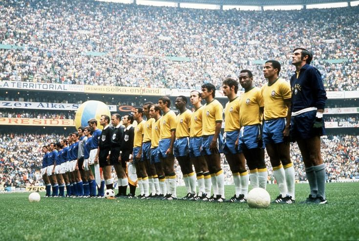 World Cup Final, Estadio Azteca, Mexico City, June 21, 1970.