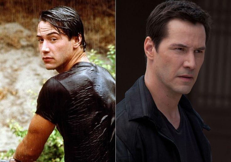 Keanu Reeves, à 27 ans et à 48 ans : Avant/après : ces stars ont plutôt bien vieilli - Linternaute