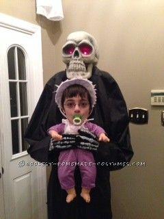 most disturbing homemade baby abduction costume - Aliens Halloween Costume Baby