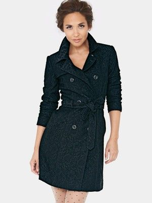on the wishlist for rainy days like this: Myleene Klass Lace Trench @littlewoodsIrl