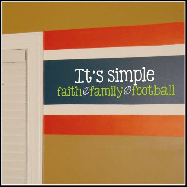 football, quotes, sayings, faith, family, football, short