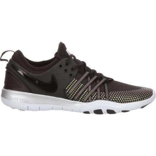 e1afd3c7516a Nike Women's Free TR 7 Metallic Training Shoes (Black/Silver, Size 6) -  Women's Training Shoes at Academy Sports