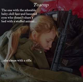 Teacup. The 5th Wave. Quote from The Infinite Sea book.