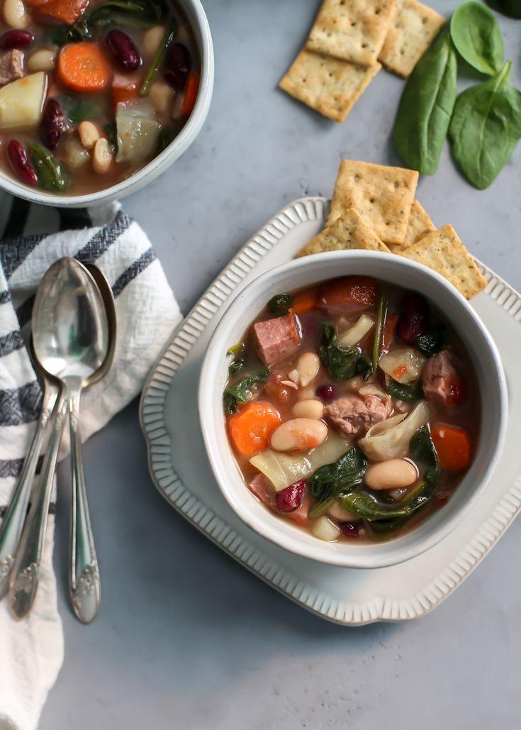 Pal's Family Portuguese Soup • Fit Mitten Kitchen