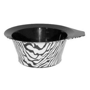 Zebra Color Bowl - Safari Edition by Color Trak. $4.63. * Betty Dain Color Trak * Stackable bowl with handle and non-slip bottom * Measurement markings inside * Color: Zebra Print