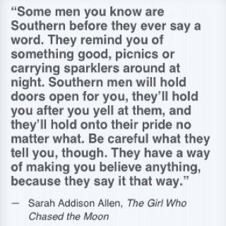 Reasons why Southern men are the best men. Love this alliteration! Glad my hubby is one :)