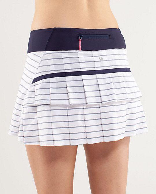 Yep, I need this running skirt . . . ruffles on the butt . . . love it!  Lululemon