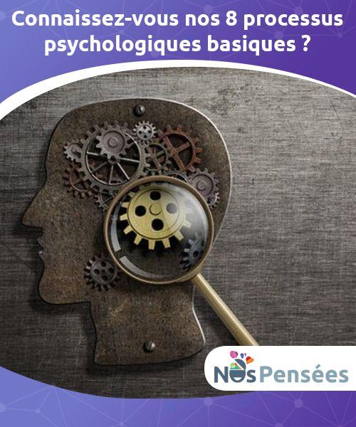 Connaissez-vous nos 8 processus psychologiques basiques ? Notre #comportement nous permet de nous #adapter au monde. Il est régit par des processus psychologiques #basiques que nous allons vous présenter. #Psychologie