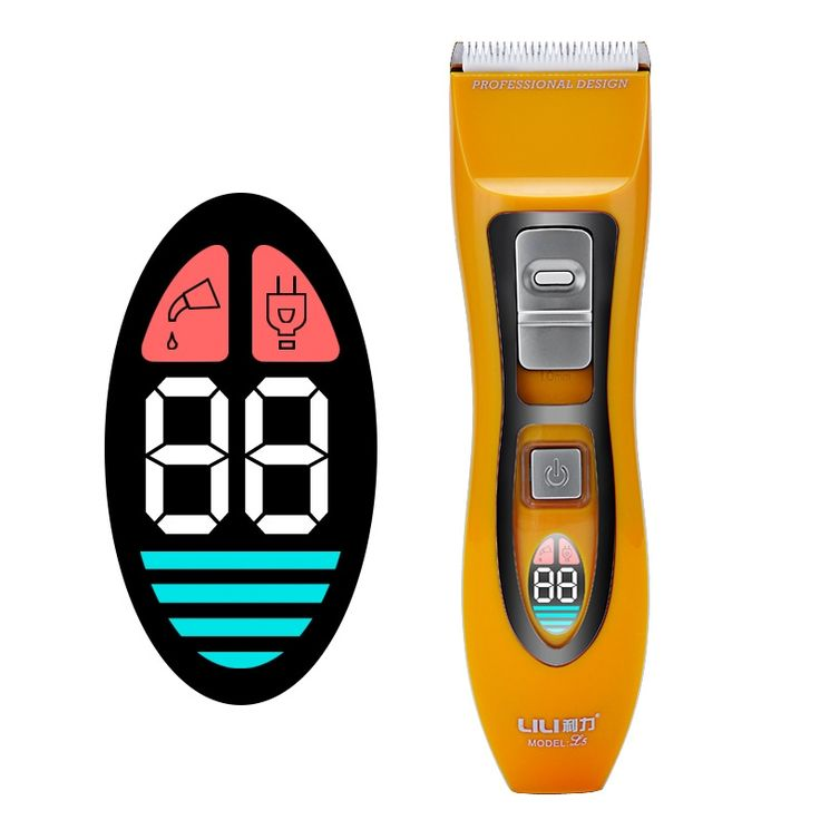 (44.00$)  Watch here  - 2017 New Professional Hair Clipper Electric Hair Trimmer For Men Electric Cutter Hair Cutting Machine Haircut Barber LED Display