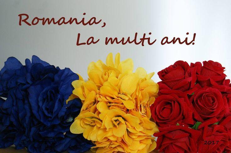 La multi ani Romania! #1decembrie #2017 #romania #ziuanationala #aranjamente #flori #artificiale #floriartificiale #beatrixart www.beatrixart.ro