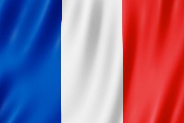 Drapeau De La France. Illustration 3d Du Drapeau Français Agitant.   Drapeau  francais, Drapeau, Photo drapeau