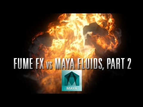 PixelBump - Tutorial 10 - FumeFX vs Maya Fluids, Part 2 - YouTube
