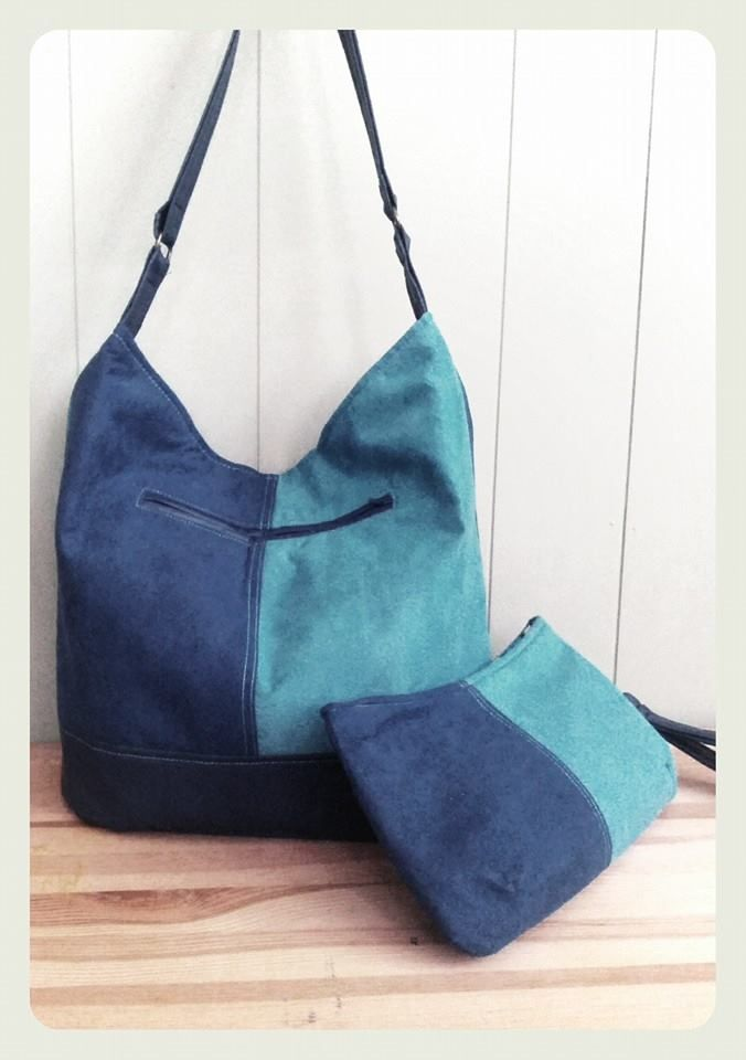 BONNIE BUCKET (seen with Coralline) - Bonnie is a slouchy hobo-style bag…