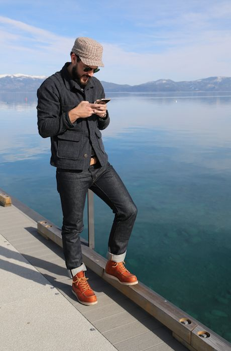 red wing boots and raw denim - Google Search