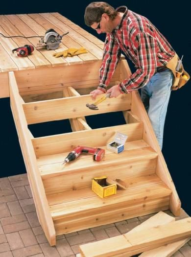 Box Steps Plans For Decks : Best box steps images on pinterest deck