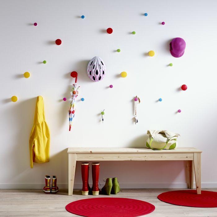 LOSJÖN hanger   #IKEA #DagRommel #hal #gang #knop #garderobe #kinderkamer