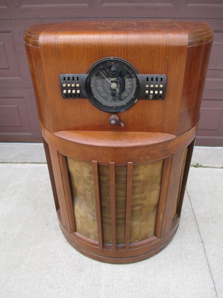 Rare original, unmolested, 1939 Zenith 12S371 console