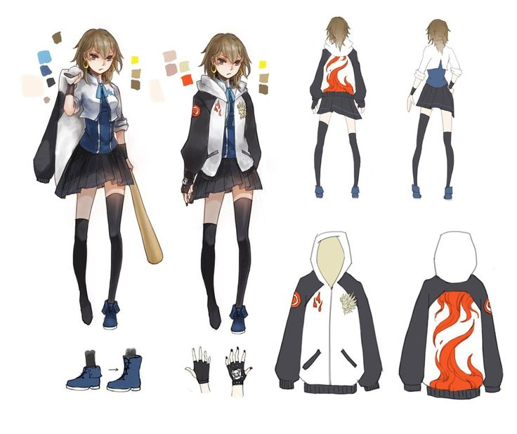 Good Character Design In Anime : Character design bww shiina akira by cyrushisa