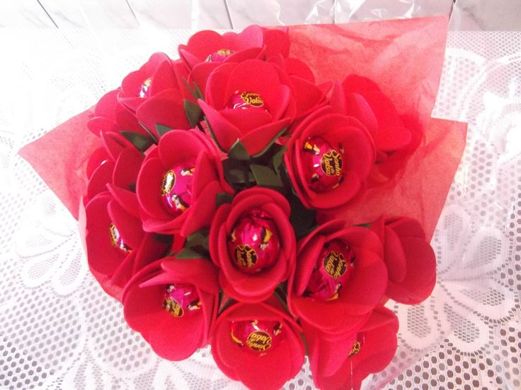 como fazer buque de rosas em eva para o dia das mães
