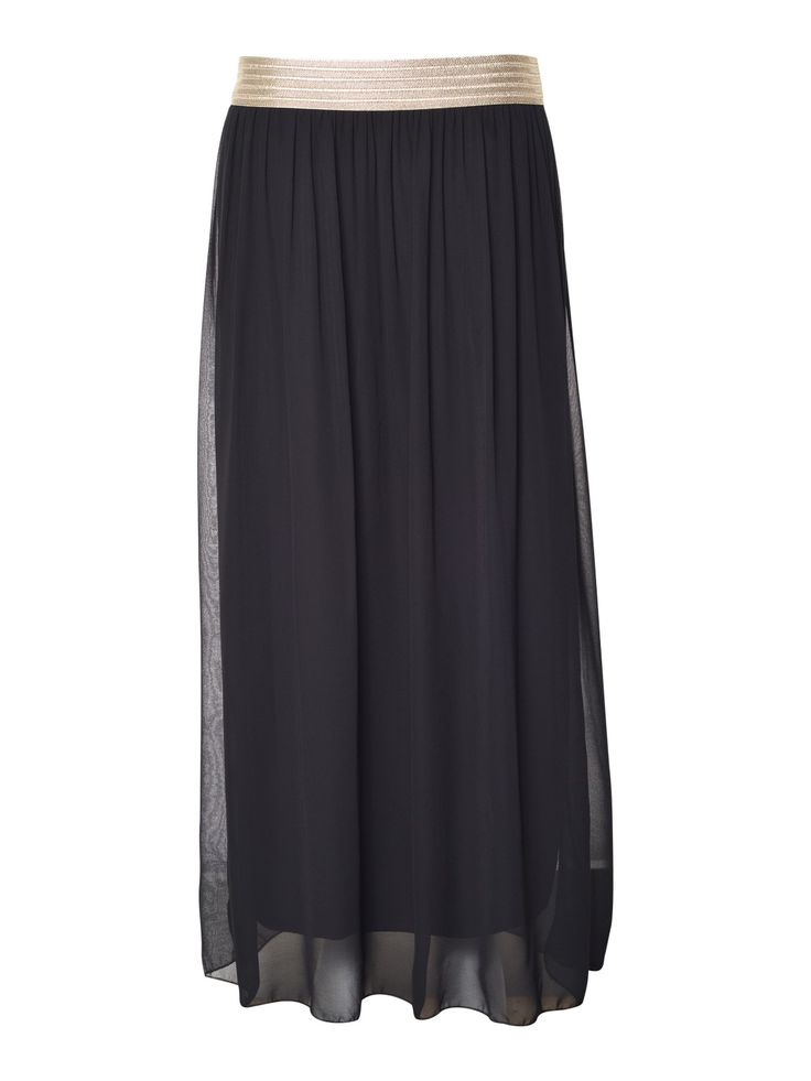 Rok Lang Gouddetail - Rokken - Shop Categorie - Close-Up