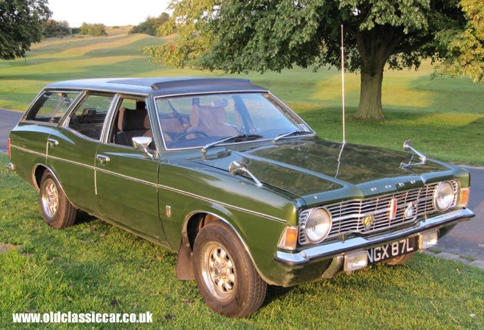 Rare Cortina Mk3 estate