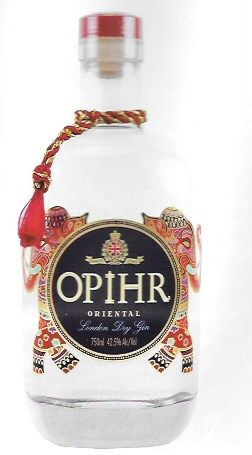 Opihr Gin, by the world's only female gin distiller