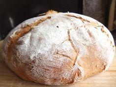 Воздушный, легкий и не хлопотный хлеб с грубой хрустящей корочкой