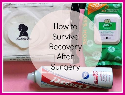 how to survive recovery after surgery: PIN NOW READ LATER!