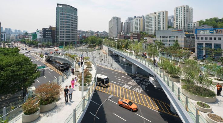 MVRDV completes Seoullo 7017