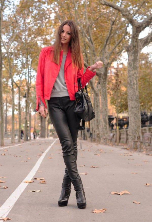 15 Trendy Leather Pants For This Fall /Winter