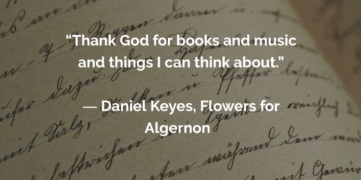 an analysis of the two characters in the novel flowers for algernon by daniel keyes Charlie gordon - the protagonist and author of the progress reports that form the text of flowers for algernon charlie is a thirty-two-year-old mentally retarded man who lives in new york city at the start of the novel, he works at donner's bakery as a janitor and delivery boy charlie's.