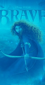 Brave: Movie Posters, Picture-Black Posters, Brave Movie