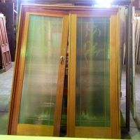 French Doors - Etched Glass $385