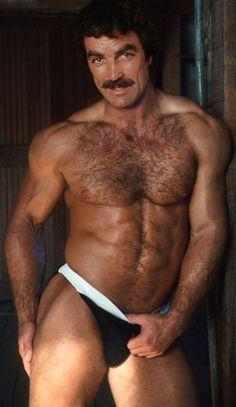 Back in the day, Tom Selleck was the man. ;)