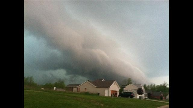 5/7/12 - Storm clouds rolling through Portage County. Courtesy viewer Tim C.