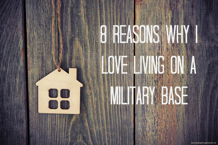 8 Reasons Why I Love Living on a Military Base - Wondering if you should live on a military base or not? Here are some reasons to think about!