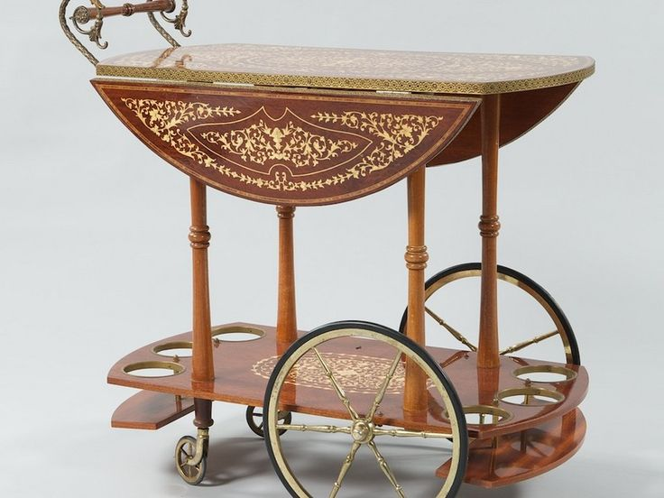 Antique Serving Cart | Home Design Ideas