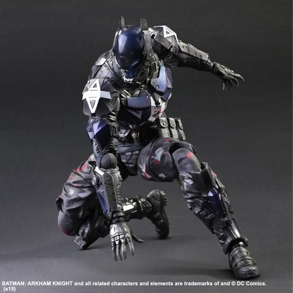 Play Arts Kai [Batman: Arkham Knight] Arkham Knight: Official Images, Info Release http://www.gunjap.net/site/?p=245104